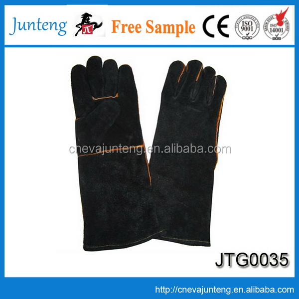 New style organic cotton glove, knitted poly cotton hand job gloves
