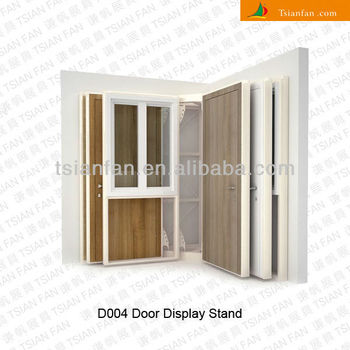 Wooden Door Display Rack D004