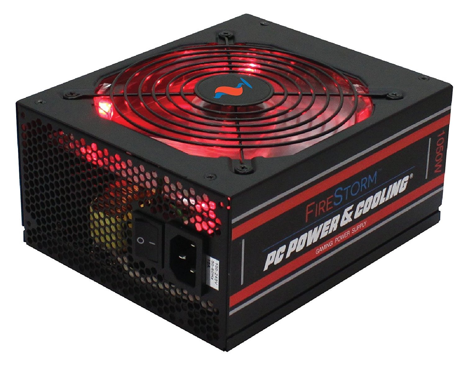 PC Power & Cooling FireStorm Gaming Series 1050 Watt (1050W) 80+ Gold Fully-Modular Active PFC Performance Grade ATX PC Power Supply 5 Year Warranty FPS1050-A4M00