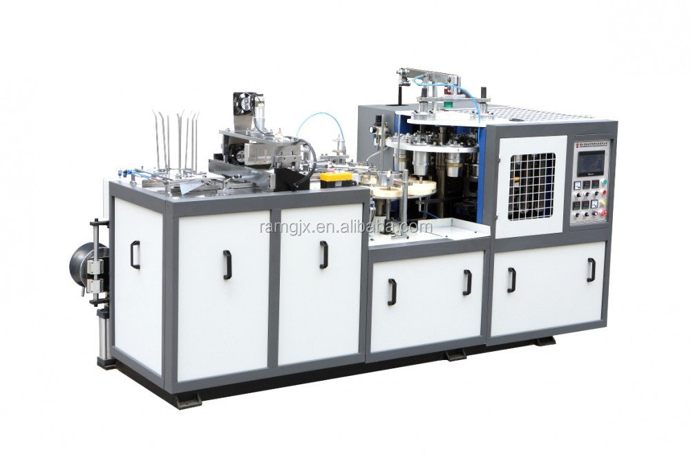Disposable Pla Coated Take Away Paper Soup Bowl Machine In China ...