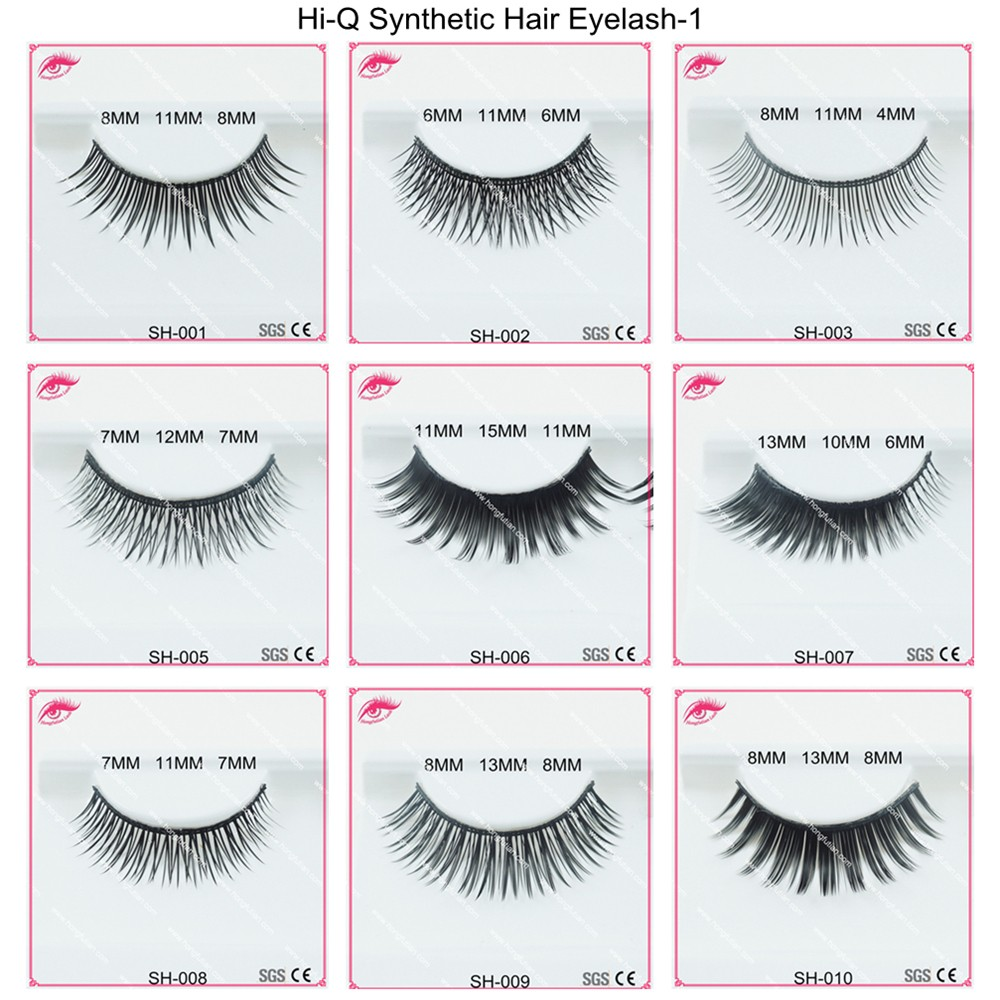 Synthetic Eyelashes Extensions 80