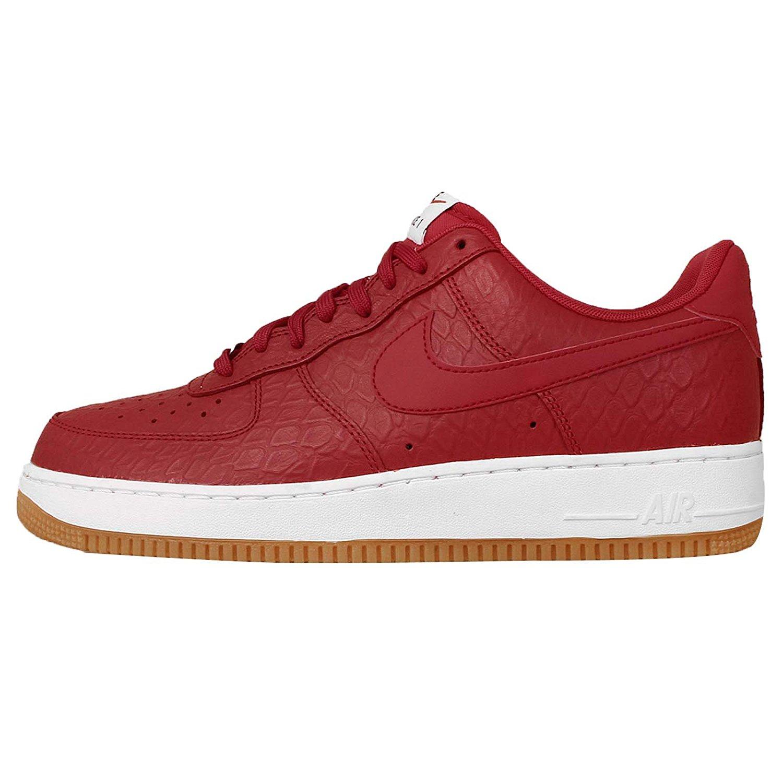 79299418826e Get Quotations · Nike Air Force 1  07 LV8 Croc Gum University Red White Gum