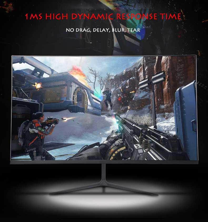 27 INCH GAMING MONITOR 2K 144HZ 2MS LED  MONITOR FOR COMPUTER GAMES