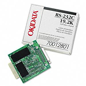 Oki Products - Oki - Internal RS-232C Interface for Okidata Microline ML-320/321/520/521/590/591 - Sold As 1 Each - Supports Ready/Busy/X-On/X-Off protocols - Compatible with ML320/321/390/391/420/421/490/491/520/521/590/591 series printers. - Can be configured through the Menu or OKISMART Utility