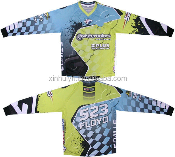 Custom Mx Jersey all over ptint Motocross Jersey Sublimated Mx Jersey