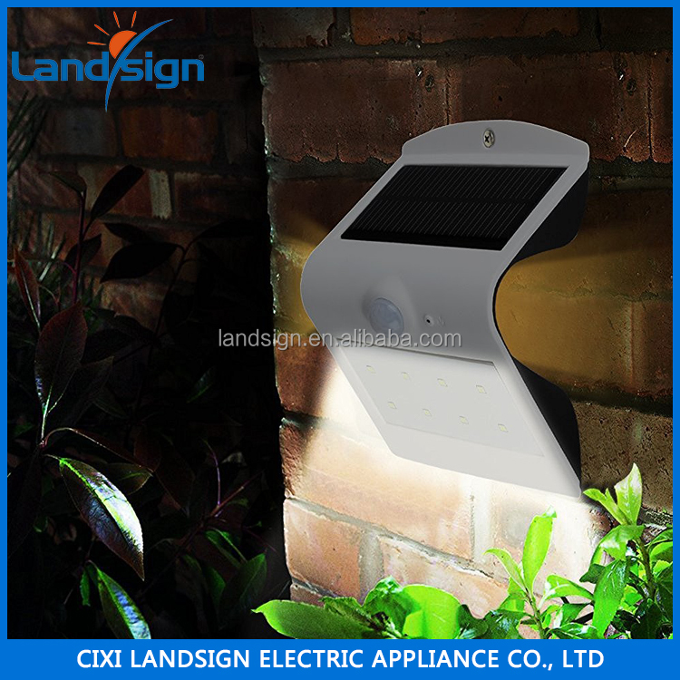 China Supplier Solar Lights Outdoor Solar Powered LED Motion Sensor Security Wall Light