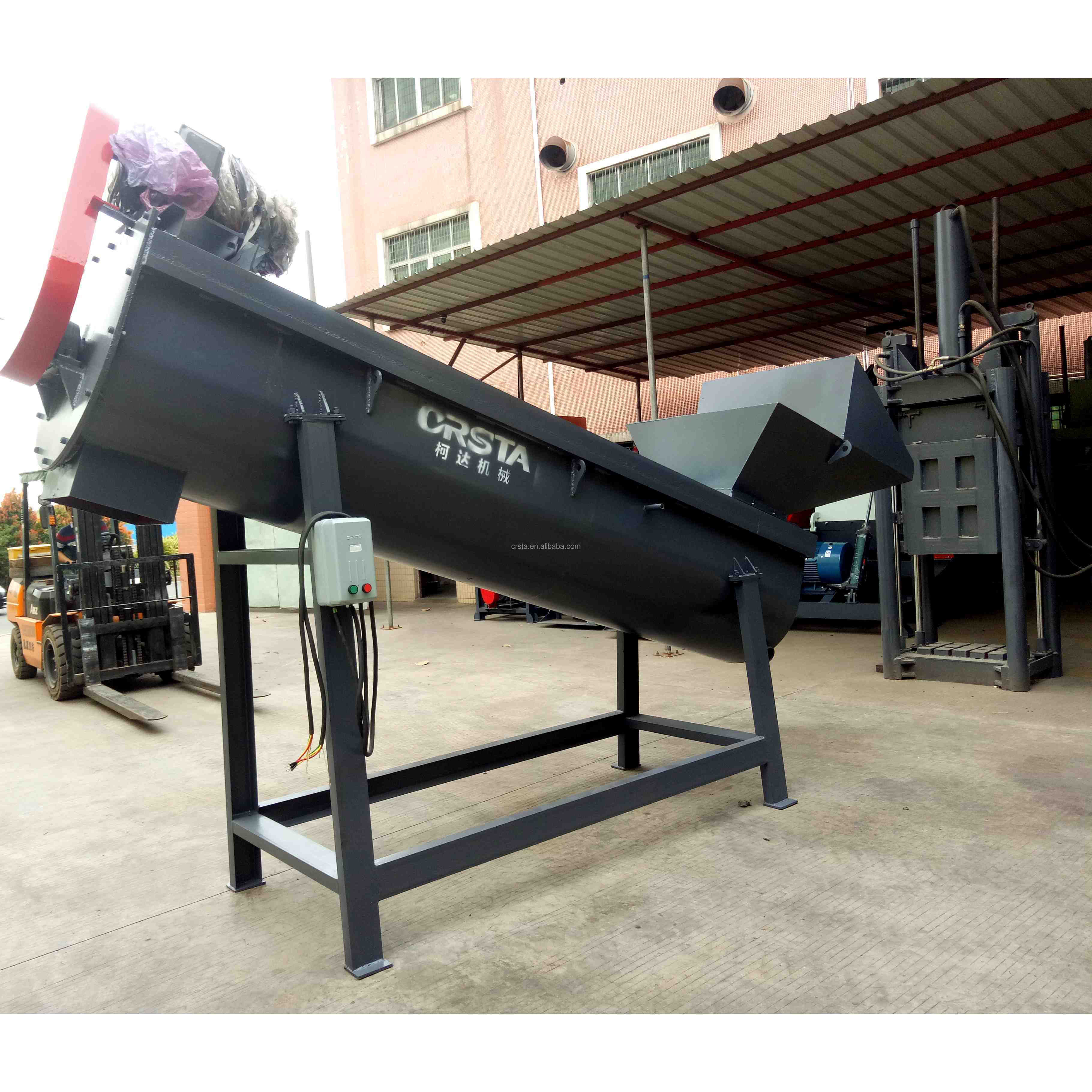 GUANGZHOU 300kg/h Waste PE Film PP Bags Friction Washer/ PE Film friction washing machine