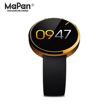 "1.22"" touch screen smart watch with phone function, pedometer, heart rate monitor, BT"