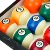 High Quality Pool Billiard Ball Set with 48mm, 52.5mm, 57mm