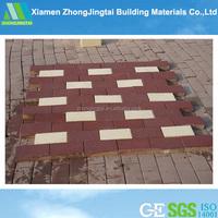 red brick decorative for Sidewalk, Blind Tile