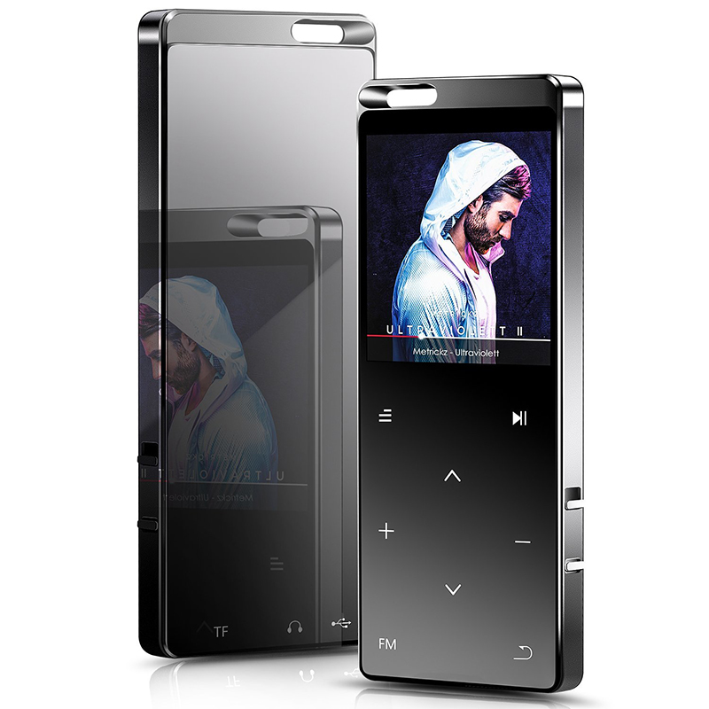 X10 1.8'' Screen CNC Metal Reproductor de <strong>MP3</strong> 8GB