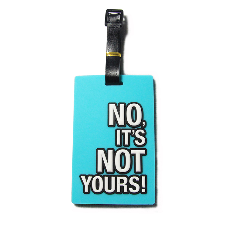 Tag Maker Wholesale Custom Cheap Travel Airplane Soft Pvc Luggage Tag