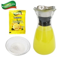 Lemon Candy Ice Popsicle Raw Material Instant Powder Drink