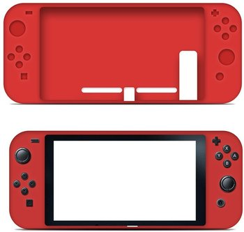Flexible Full Body Protective Silicone Case For Nintendo Switch Console And Joy-con Controllers