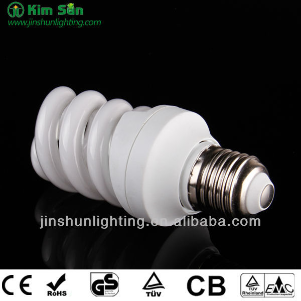Full Spiral Eenergy Saving Bulb Ccfl Bulb 9MM 9W-15W