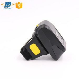 Glove Bluetooth Finger Wireless Barcode Scanner Mini USB