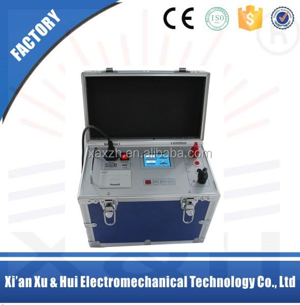 High Quality Contact Resistance Tester,Circuit Breaker Loop Resistance Tester