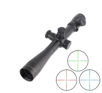 SPINA M1 3.5-10x40E Red and Green Illuminated Mil-dot Scope Rifle Riflescope For Hunting Rifle Shooting
