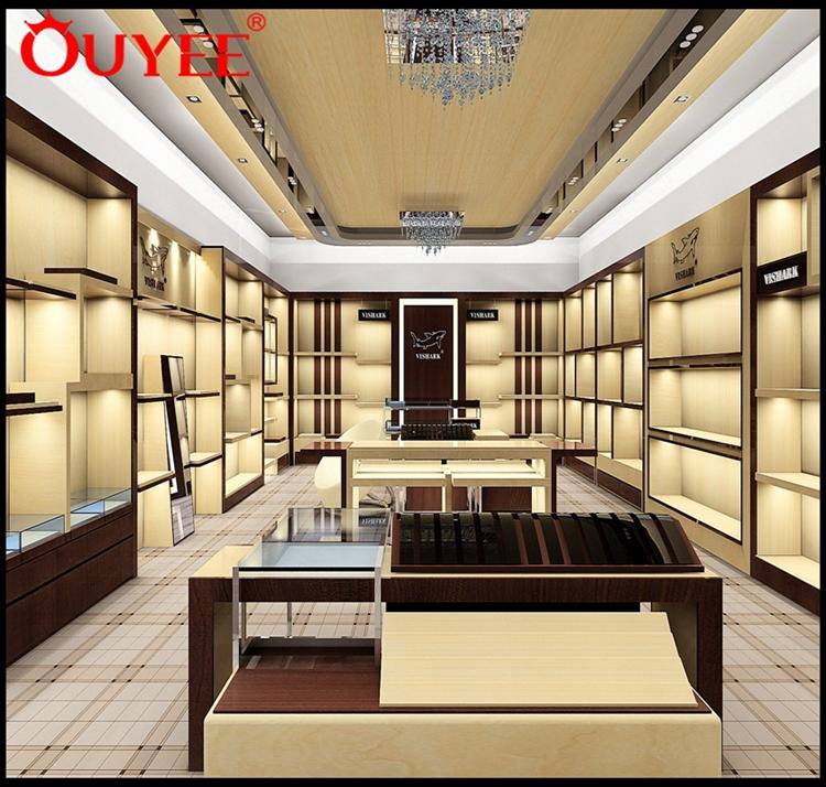 Retail Interior Design Footwear Wall Mounted Shop