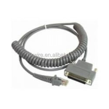 25-pin Female 90a051340 Datalogic Cab-363 Rs232 Coiled Cable For ...