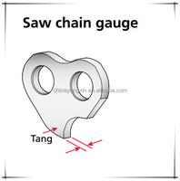 Chainsaw Parts Forest Machine Parts Chain Saw 20'' Bar Chain ...