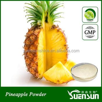 Organic Pineapple Powder Freeze Dried