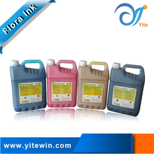 Multi colour Flora solvent ink spectra polaris digital flex printing ink guangzhou