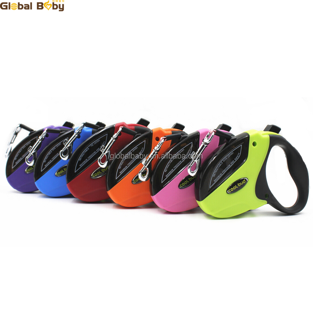 5M 6Colors AM Hot Sale Automatic Retractable Medium Large Pet Leashes Lead for 50kg <strong>Dogs</strong>