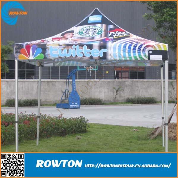 Custom Heavy Duty Aluminum Pop Up Tent Folding Canopy Tent