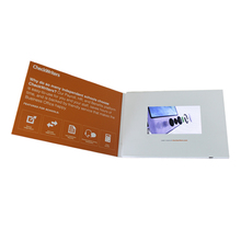 Supplier Customized Birthday Greeting USB Video Brochure Card
