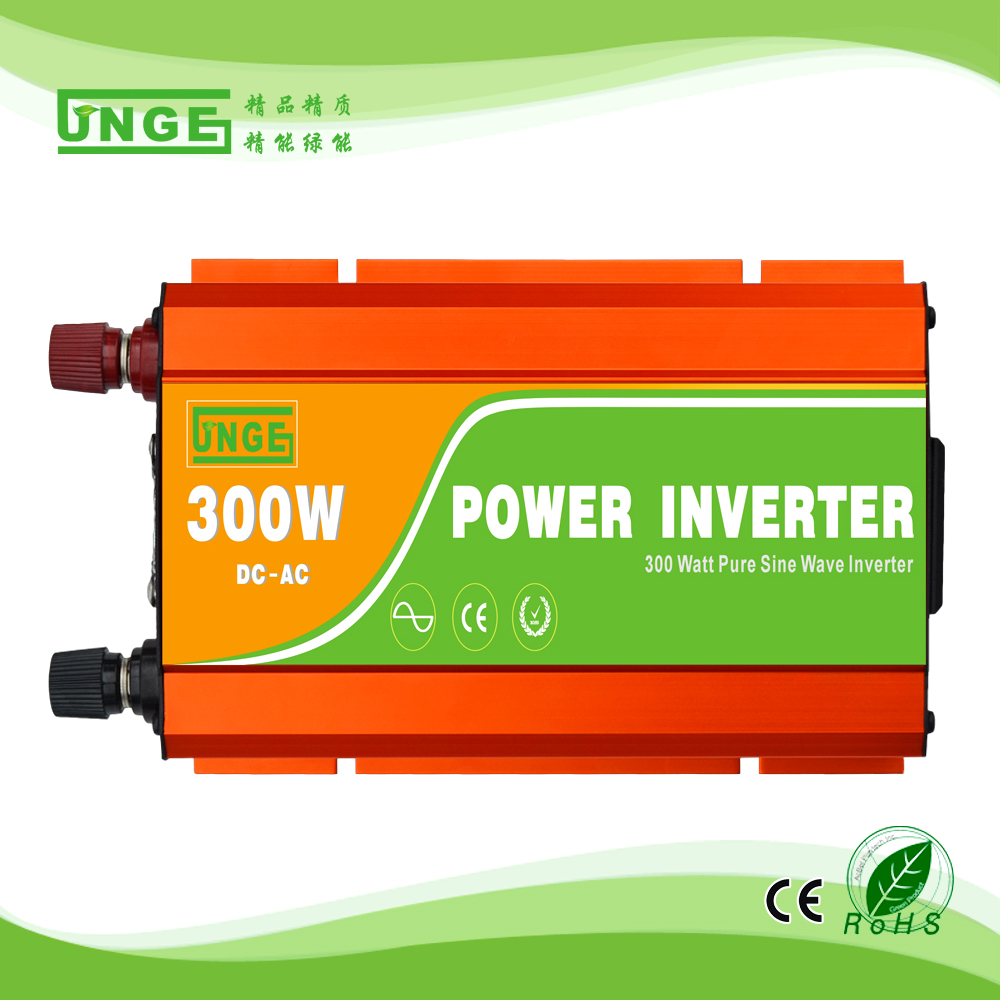 300w pure sine wave 12v <strong>dc</strong> to 110v 120v 220v 230v 240v ac car power inverter with car cigarette lighter