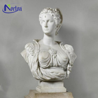 Home Decoration Life Size marble Bust Our Lady Sculpture NTCS-014