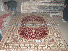 Pure 100% silk carpet