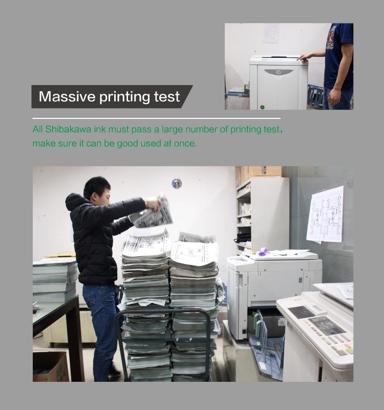 DP504/514/524/554 zwarte inktcartridges Geschikt voor DUPLO Digitale Stencilapparaten SERIE