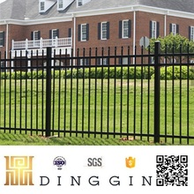China supplier cheap wrought iron fence/railing for garden