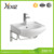 Z825 india market cheap washroom toilet hand wash design stand basin