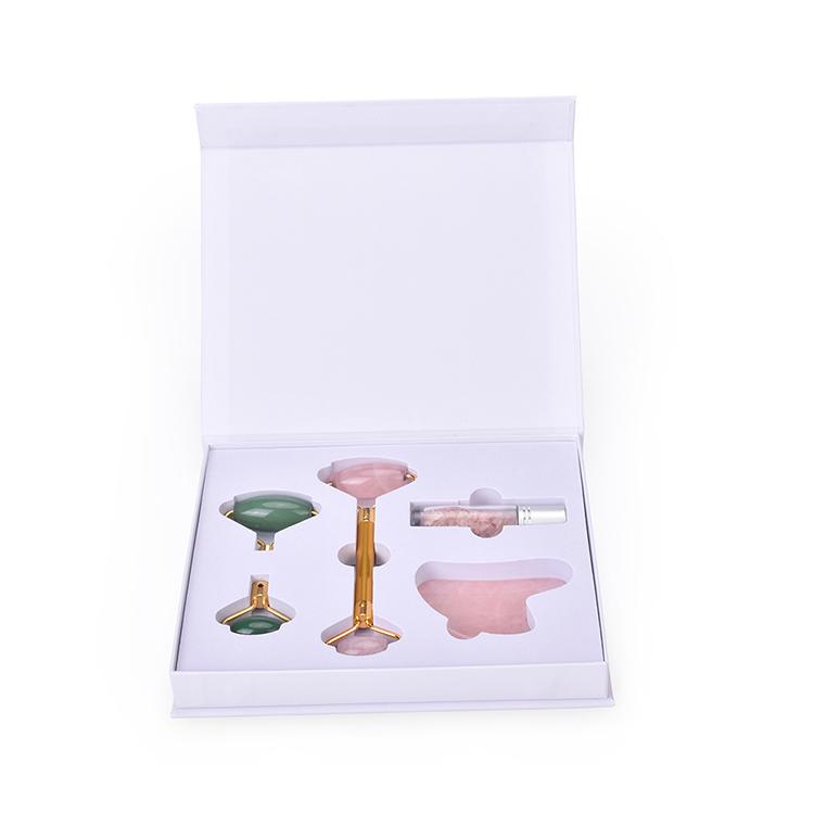 2019 Trending Ursprüngliche Fabrik Heimgebrauch Massage Werkzeug Neueste Abnehmbare Balmatin Sodalite Picasso Jade Roller Mit seide box