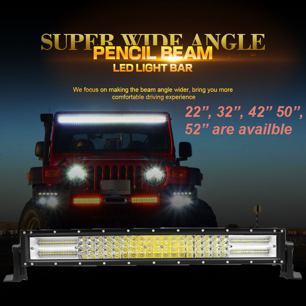 Led Light Bar 52 Inch Off Road Auto In High Quality Wiring Diagram For Speedtech Bars Lights 4 Wheel Parts On Sale Performance Kc Hilites