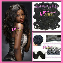 "2012 best selling super quality cheap virgin brazilian hair extensions 10""-40"" in huge stock 1301"