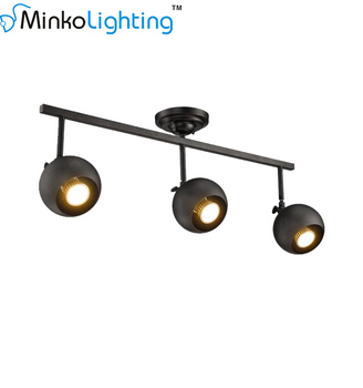 Retro Led Bar Cbo Wall Mounted Long Pole Track Light View Dimmable Minko Product Details From Lighting Zhongshan