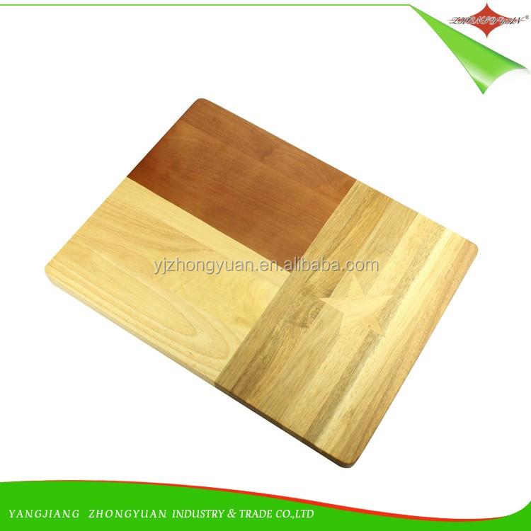 Zy r food grade chopping block wood cutting board