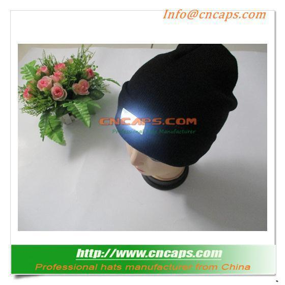 New Design Knit Winter Hat With Led Light - CNCAPS