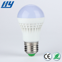 Sound and light control smart high transmittance 200lm 3w 5w 7w 9w led auto bulb,led plastic bulb