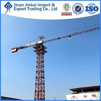 56m self rised hydraulic system tower crane price