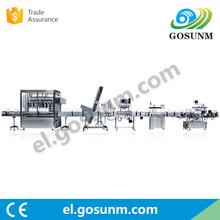 China DongGuan Machinery Manufacturer automatic ketchup sauce filling machine filling line