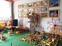 Thinkertoy>preschool Educational Toys Plastic Building Blocks ...