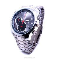 Hot selling camera watch 8G memory built-in HD 1920*1080P motion detection hidden spy watch camera