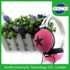 custom made new product wired colourful mobile phone headphones