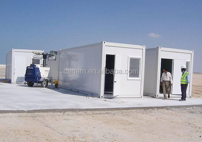 Flat pack container warehouse,dormitory camp in UAE