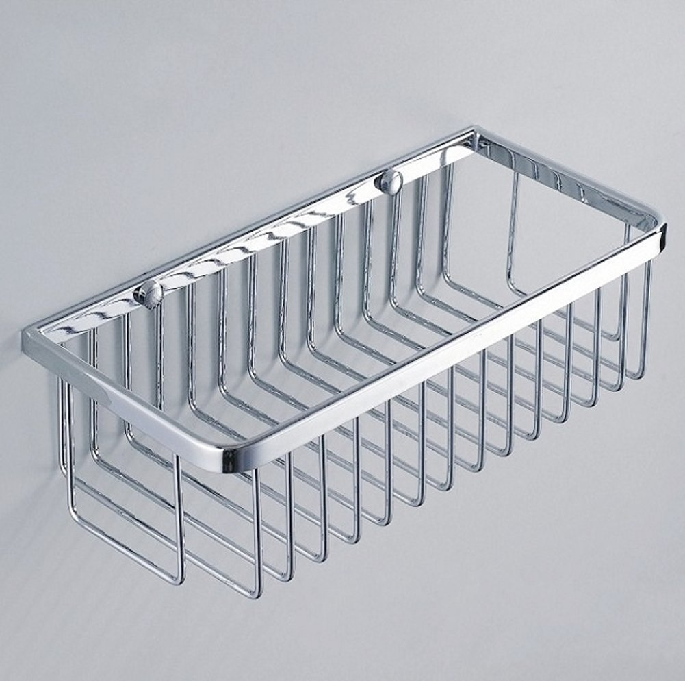 Copper bathroom storage baskets/Bathroom racks/Bathroom double rectangular baskets-A